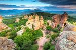 Чудния пейзаж на Белоградчишки скали