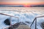 Яростно януарско море