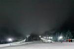 Ски писта в Боровец, нощем