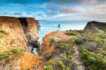 Висок бряг по Португалското крайбрежие