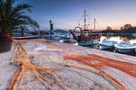 Рибарски мрежи в Созопол