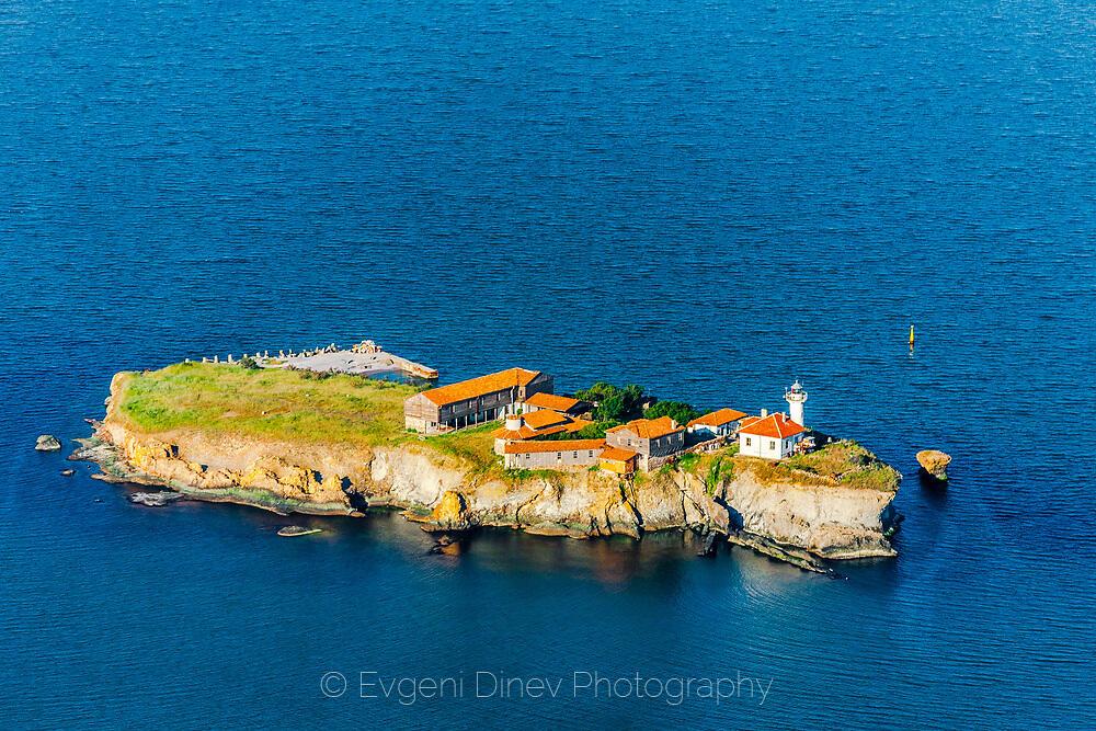 Остров Анастасия от високо