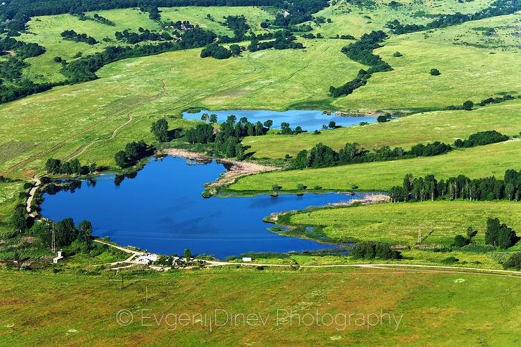 Езерце от високо