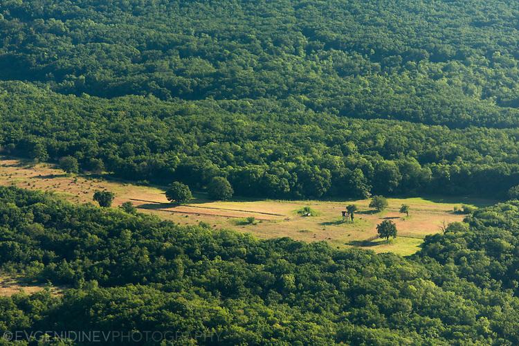 Снимка от аероплан на парк Ропотамо