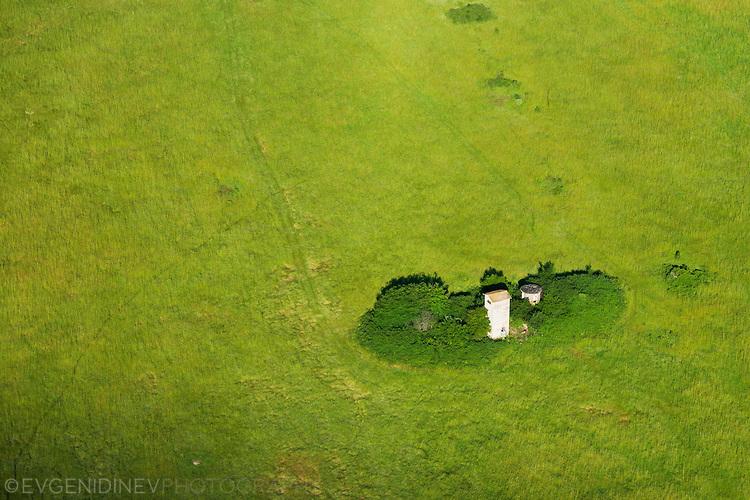 Снимка от въздуха над ловен парк Ропотамо