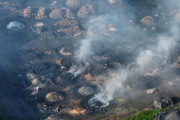 Производство на дървени въглища