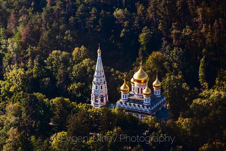 Над храма до град Шипка