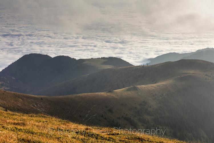 Ниска облачност в южната част на Балкана