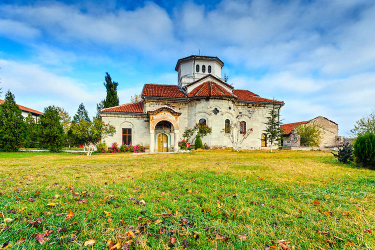 Араповски манастир през есента