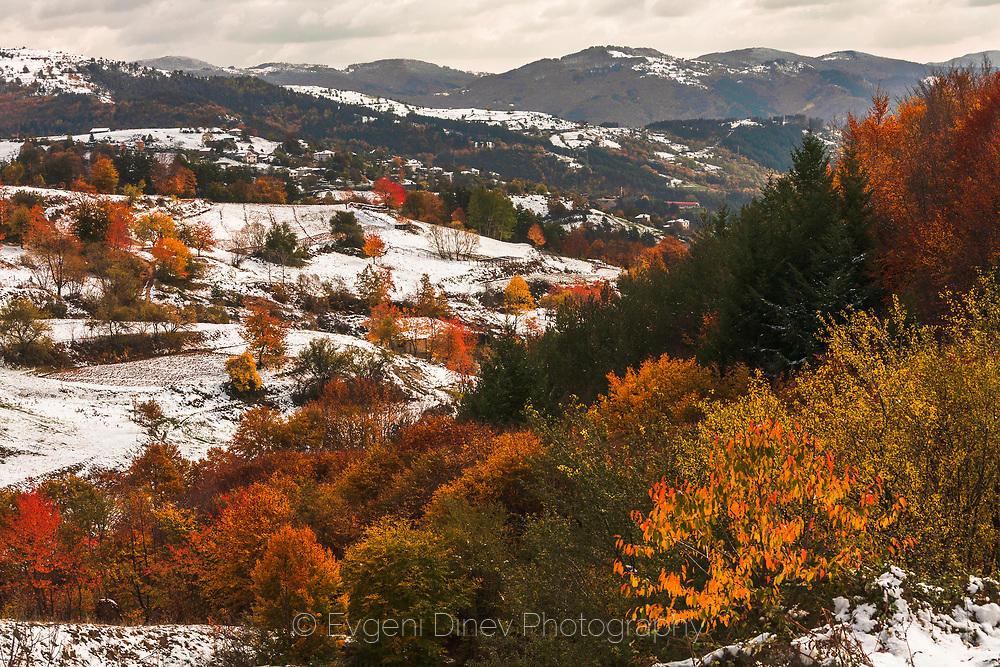 Зима посред есен