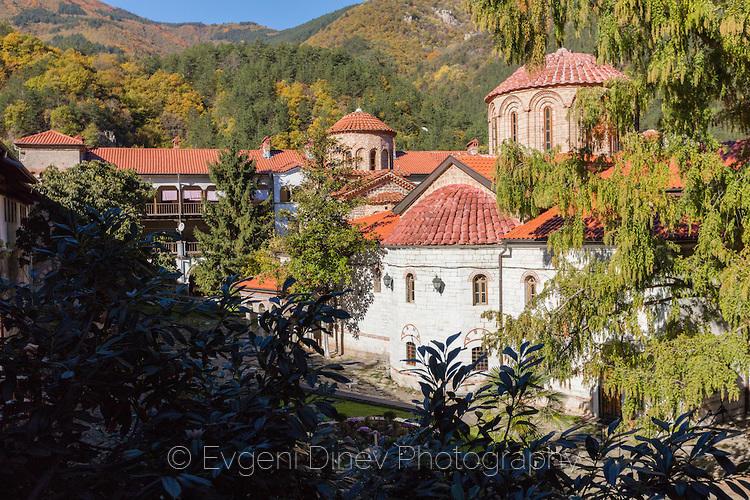 Бачковски манастир наесен