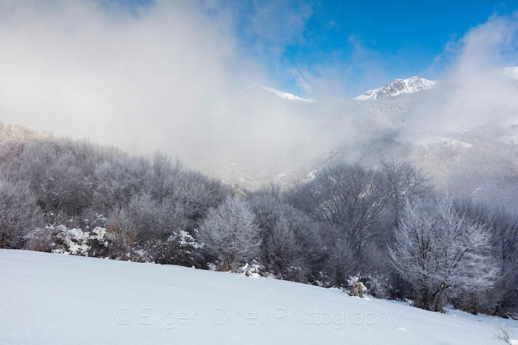 Динамично време в зимния Бълкан