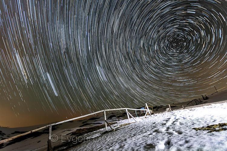 Звездни следи край заслон Орлово Гнездо