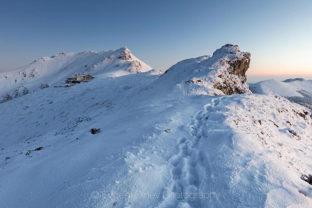 Хижа Ехо през зимата