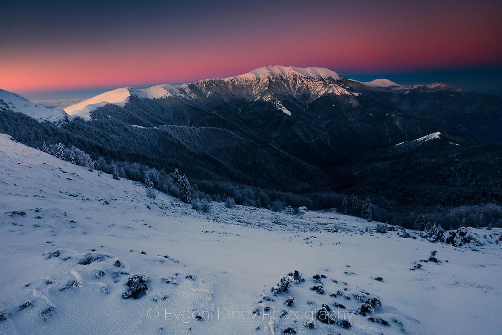 Централното старопланинско било през зимата