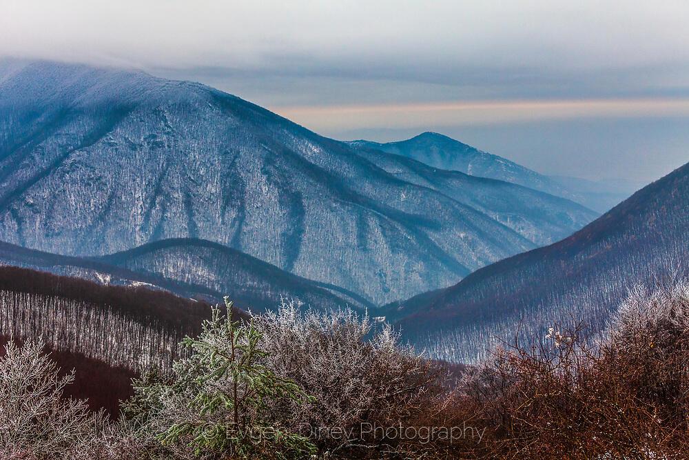 Сливенския Балкан зиме