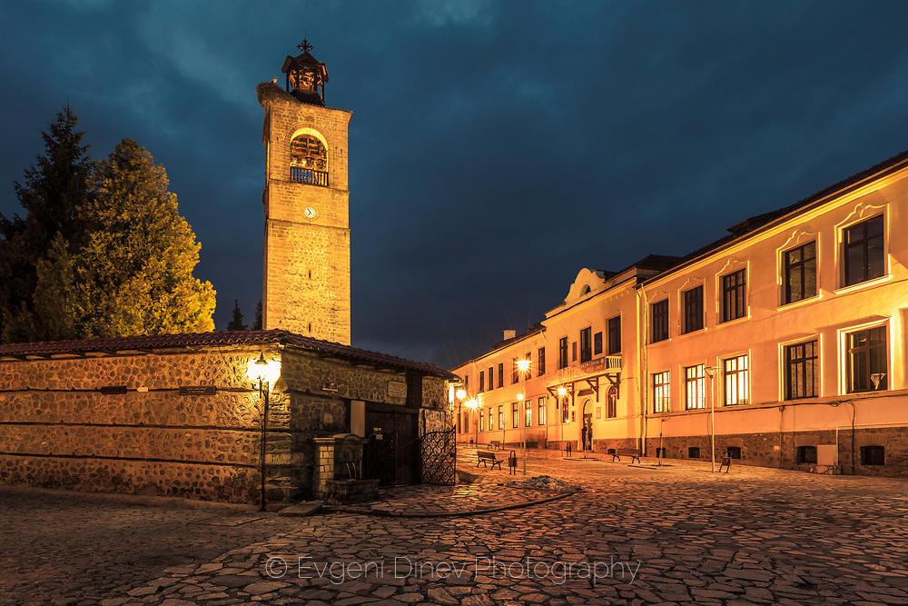 Часовниковата кула в Банско