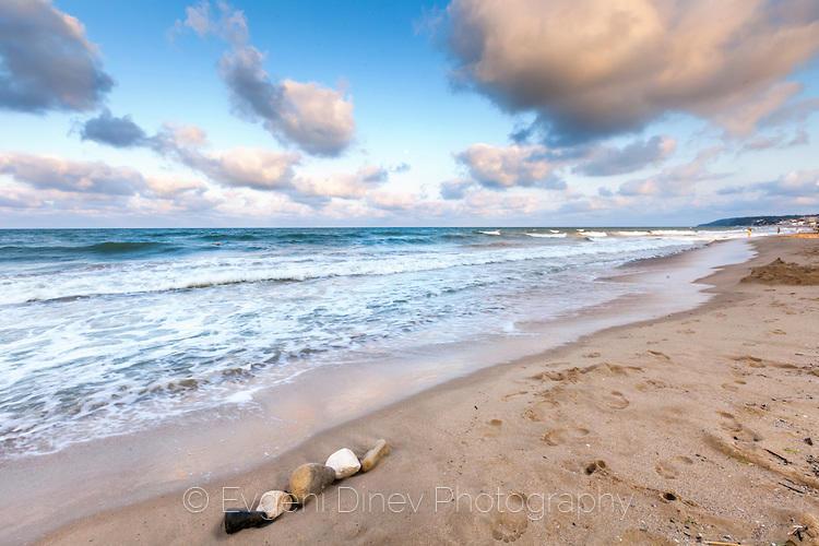 Плажът на Обзор