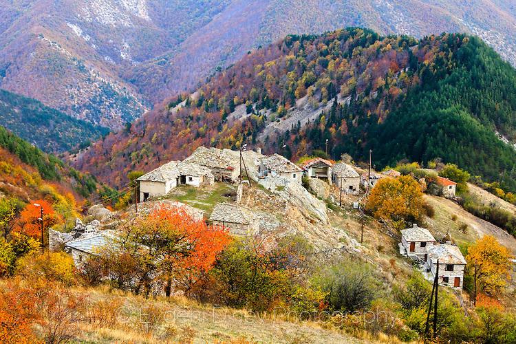 Село Бор през есента