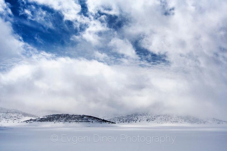 Студ и лед на Белмекен