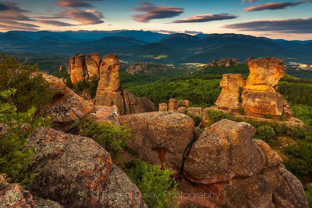 Пейзаж от Белоградчишките скали