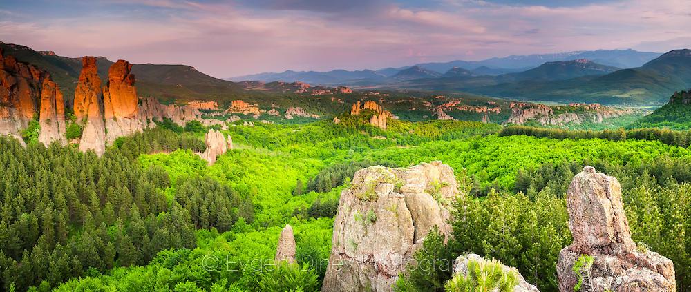 Панорама на Белоградчишките скали