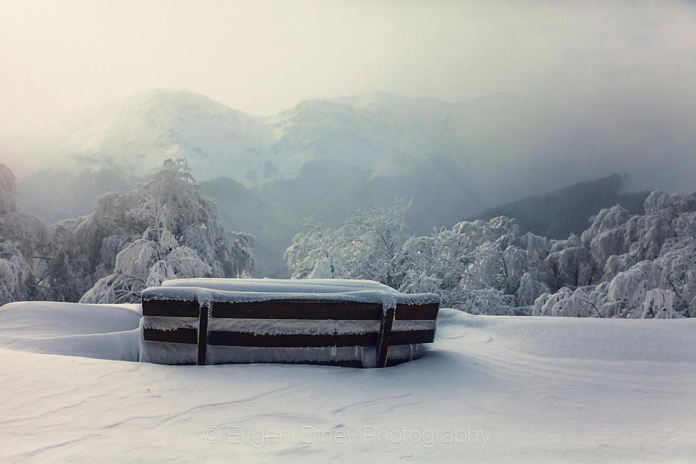 Пейка в снега