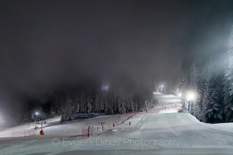 Ски писта за нощно каране
