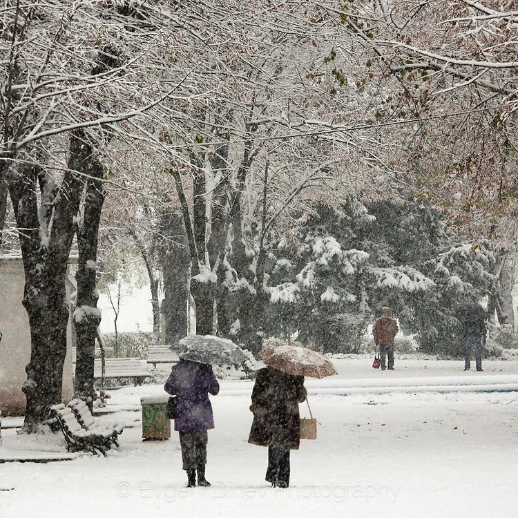 Зима в Бургас