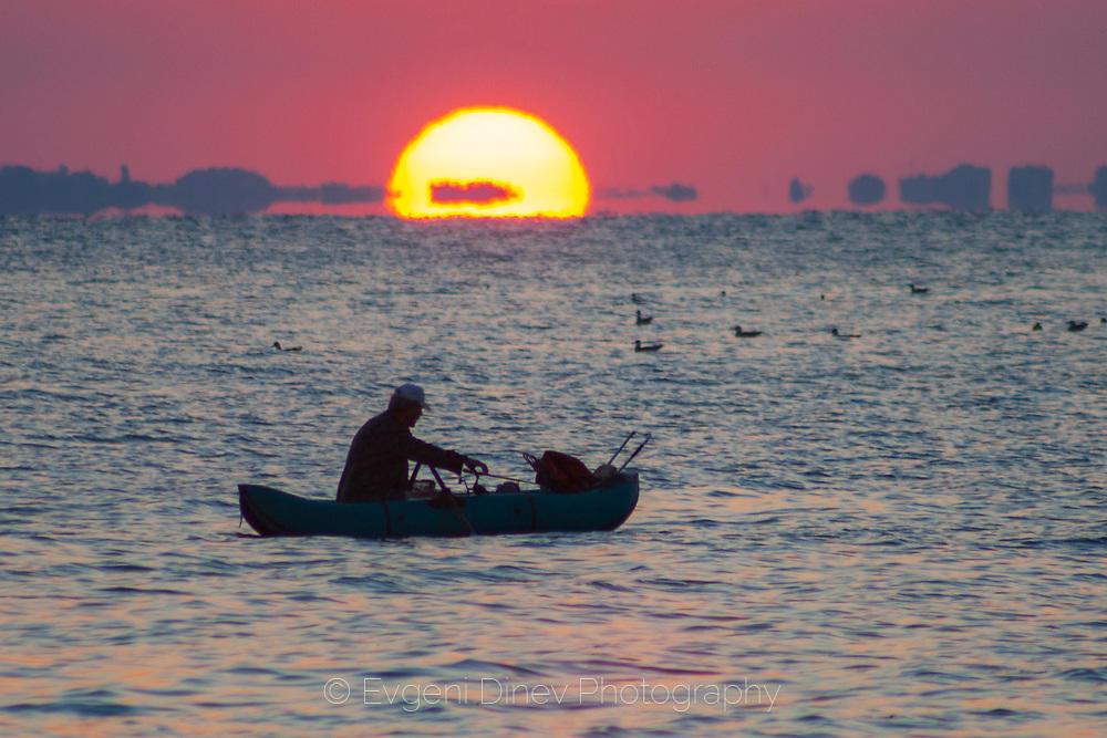 Рибарят и слънцето