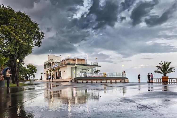 Морско Казино измито от дъжда