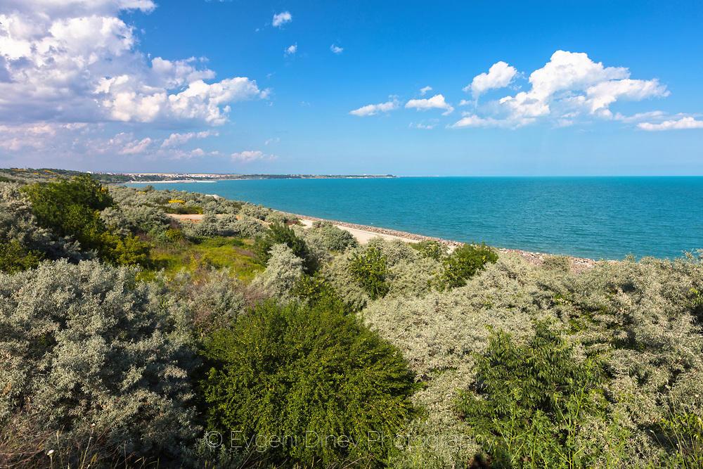 Лазурно море край Бургас