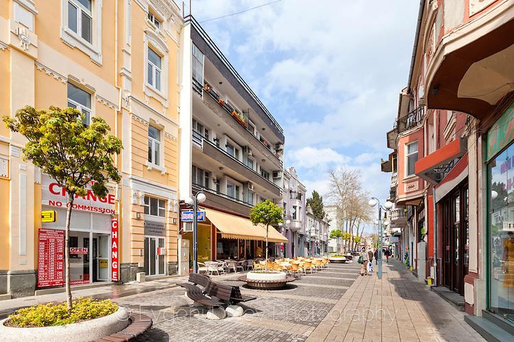 Улица Кирил и Методий в Бургас