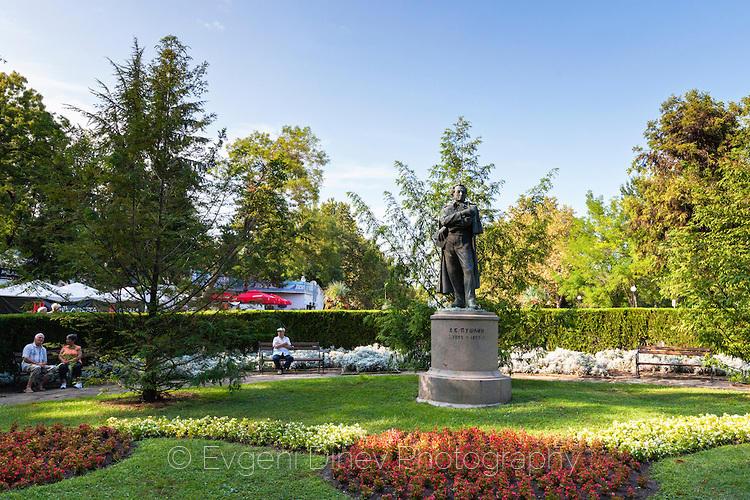 Паметник на Пушкин в Бургас