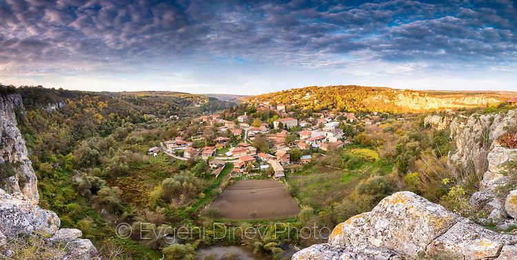 Панорама на село Червен