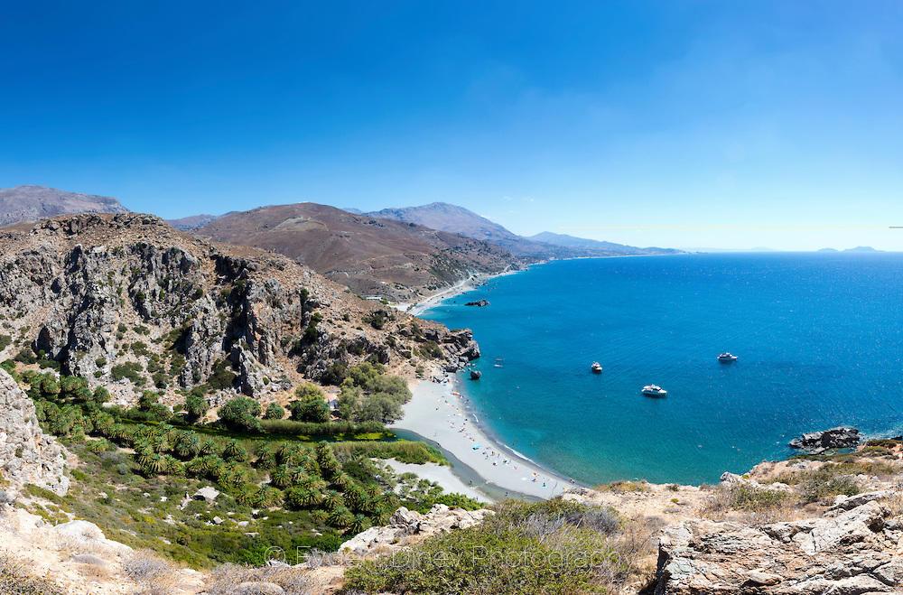 Плажът Превели на остров Крит