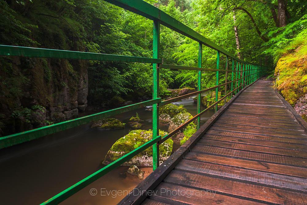 Мостче над Девинска река