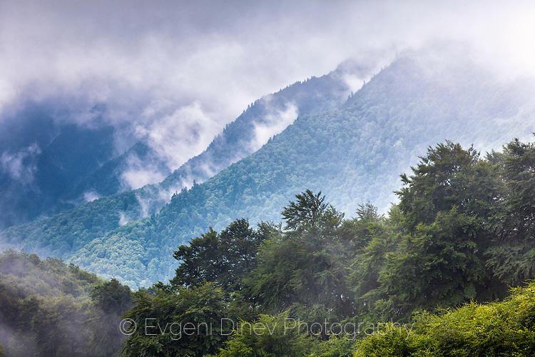 Облаци над резерват Козя Стена