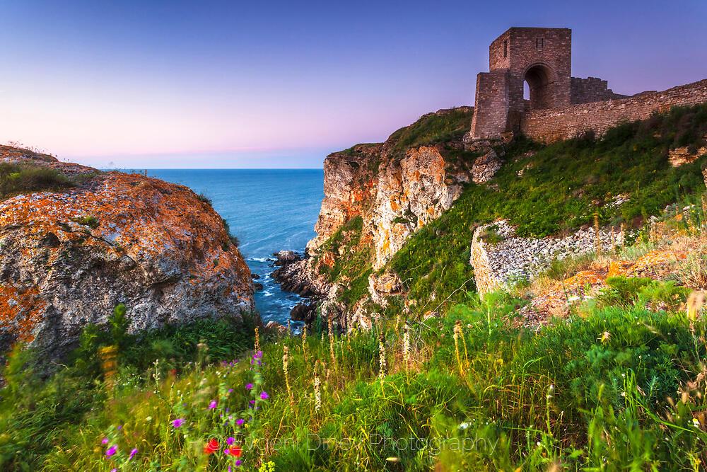Крепост Калиакра на пролет