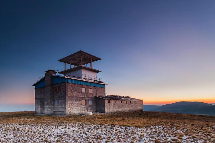 Военна база на връх Голяма Кадемлия