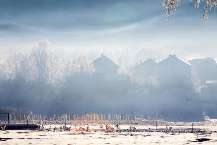 Мъгла и студ