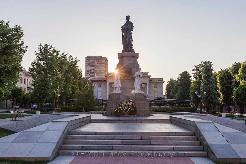 Военен паметник в Хасково
