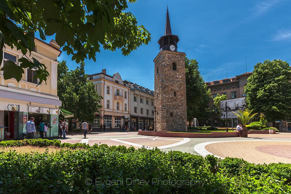 Старият часовник в Хасково