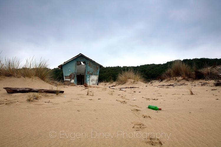 Къщурка на плажа