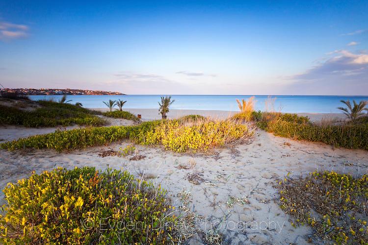 Плаж Каваците в края на лятото