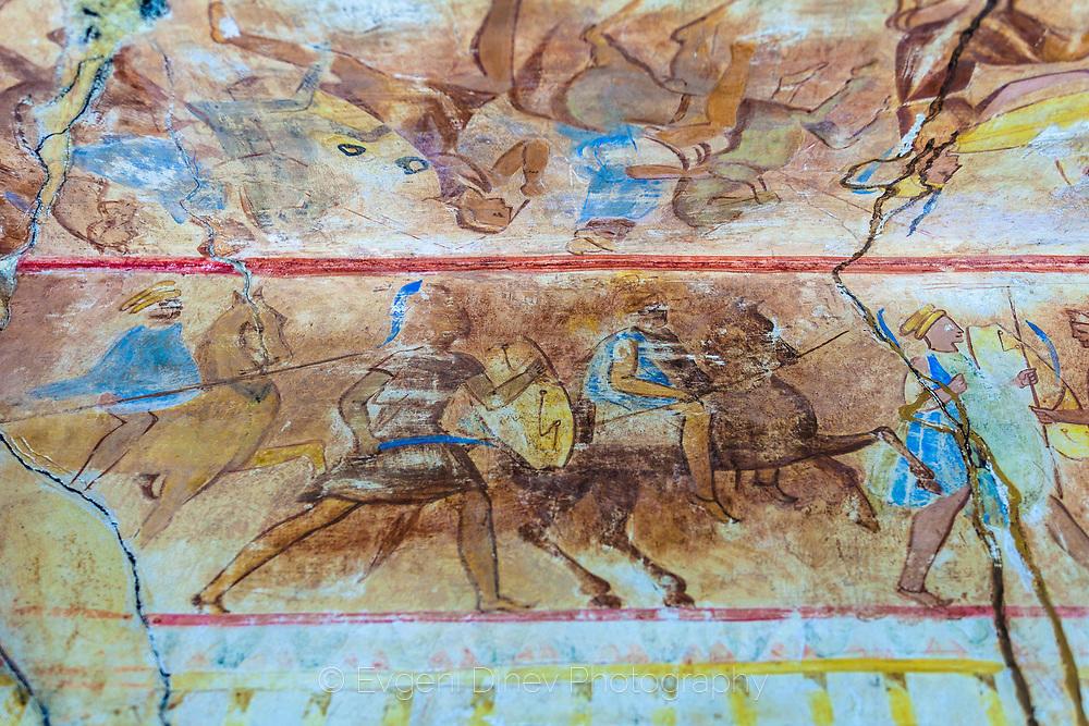 Фрески от гробницата в Казанлък