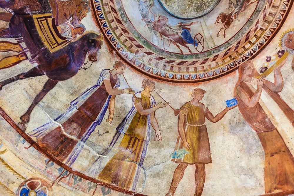 Стенопоси в Казанлъшката гробница
