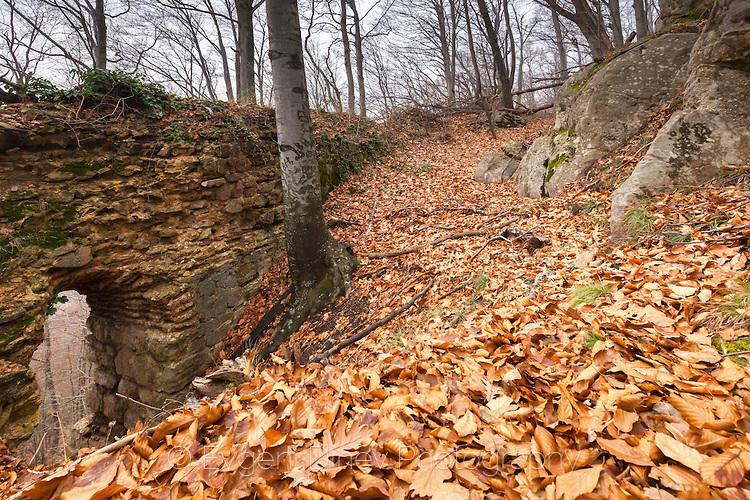 Южна крепостна стена на Кипиловско кале