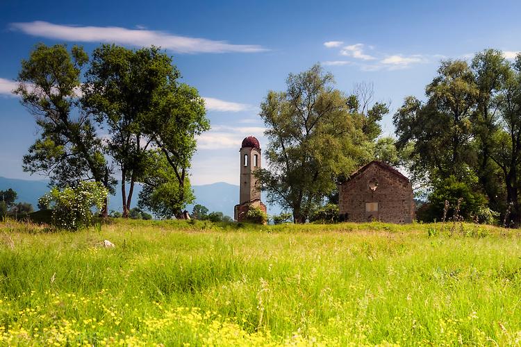 Потопената църква до село Виден