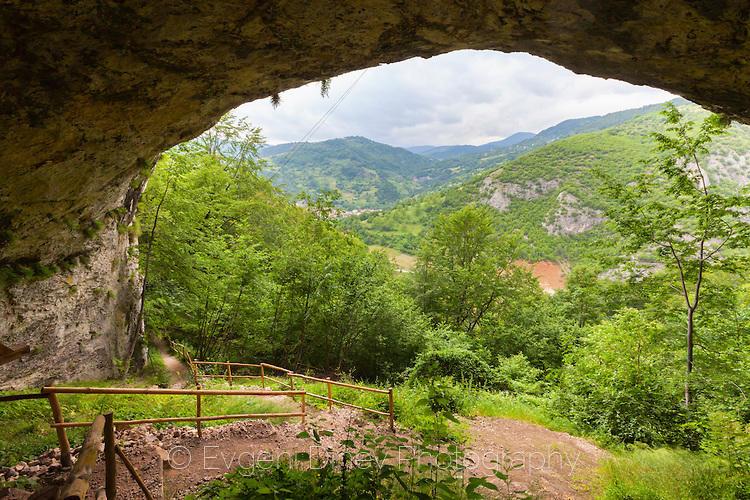 Свод на пещера до село Кошница